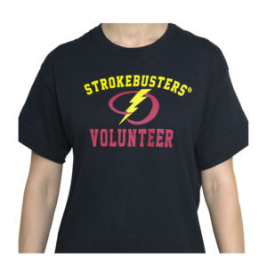 Black Volunteer Shirt from strokemadesimple.com