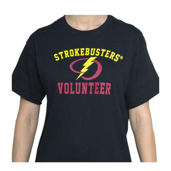 Black Volunteer Shirt from strokemadesimple.com