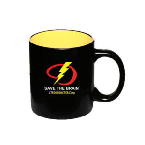 Save The Brain Mug from strokemadesimple.com